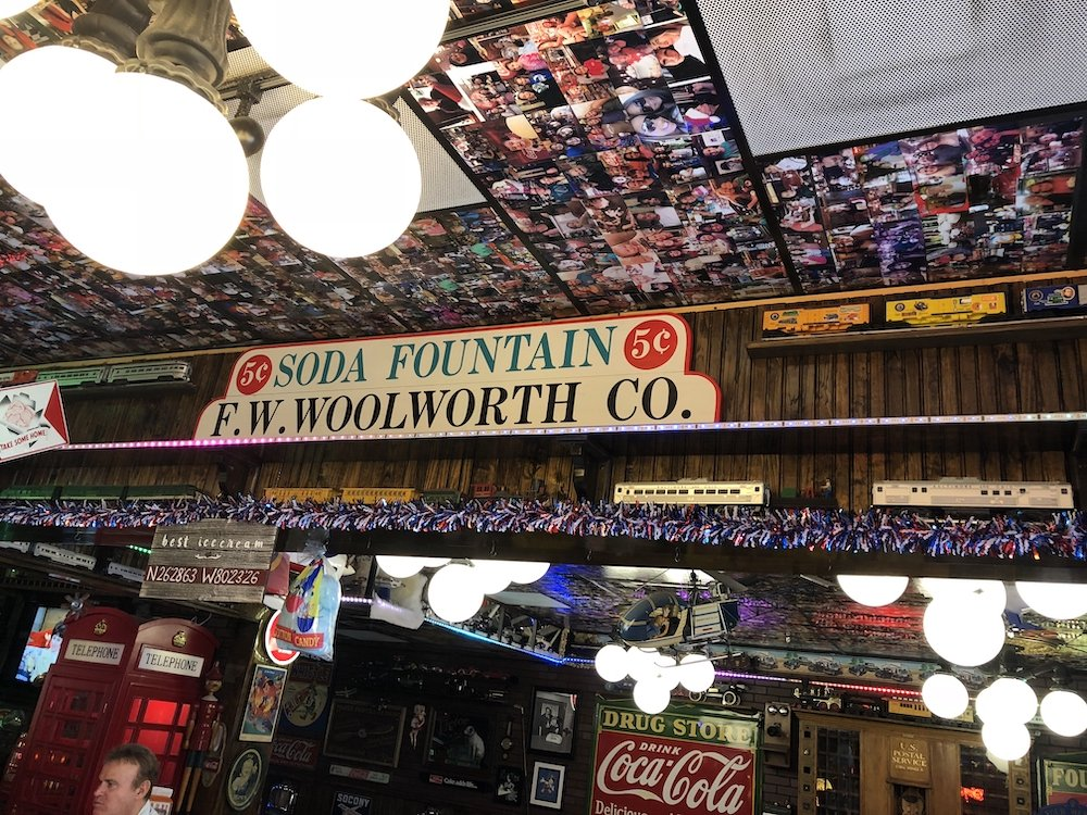 Woolworth Sign