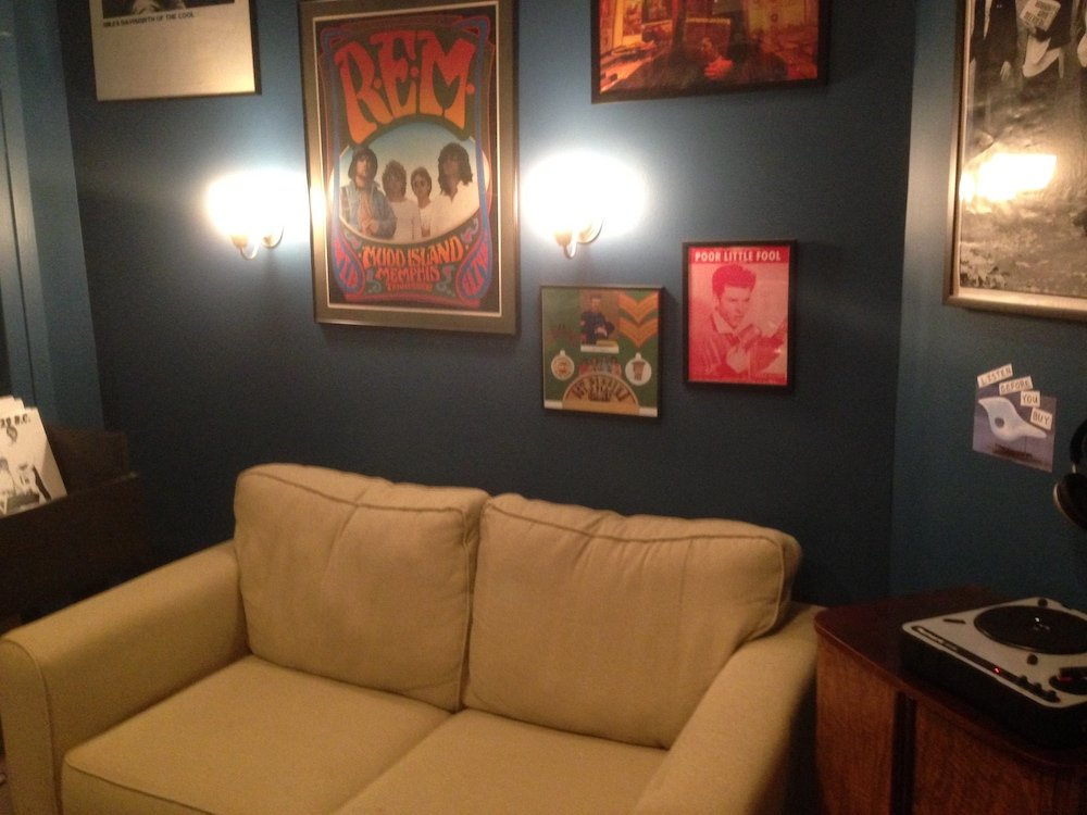 Music Listening Couch Area
