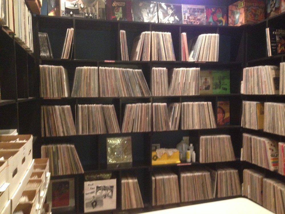Vintage LPs Room