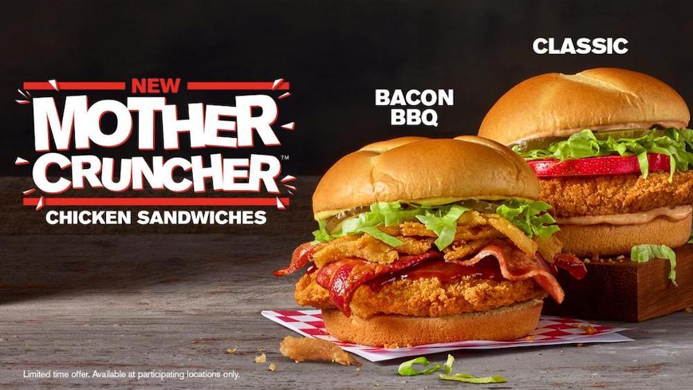 Checkers Mother Crunchers Chicken Sandwich