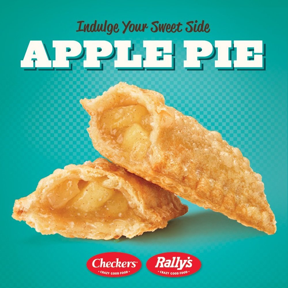 Checkers & Rally's Fried Apple Pie