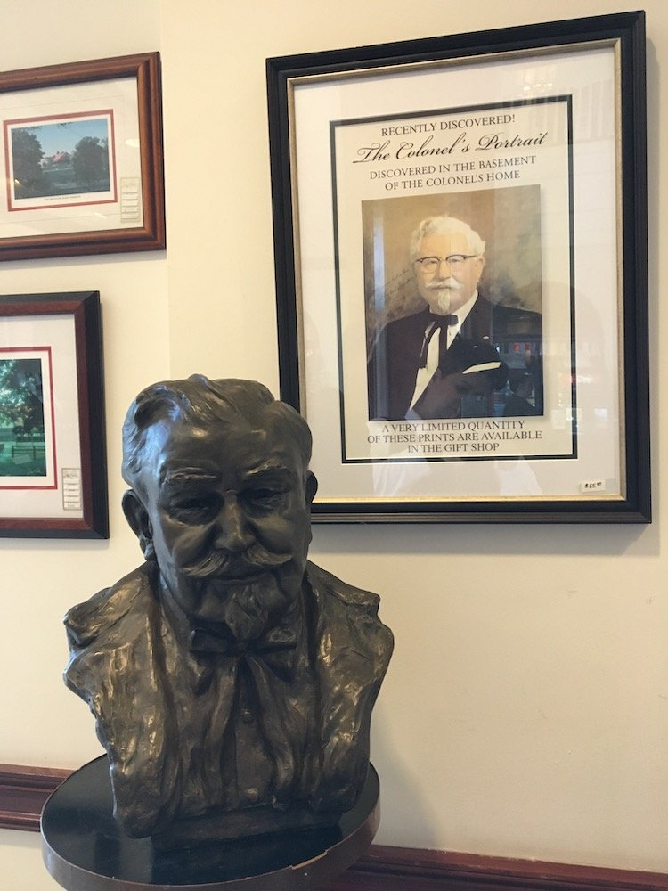 Bust of Colonel Sanders