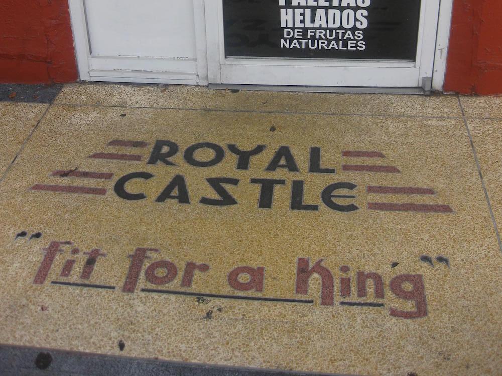 Royal Castle Terrazzo Floor at Ernesto's Taco Shop in Cutler Bay