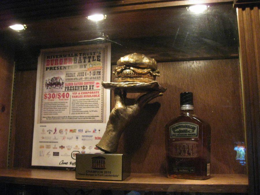Burger Battle Trophy Case