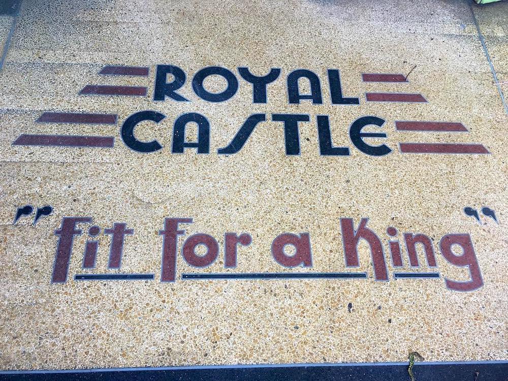 Royal Castle terrazzo floor at La Cruzada in Homestead