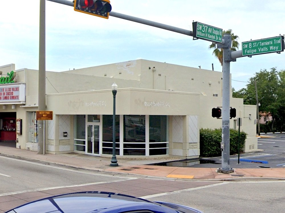 Old Marlins Store in Miami, a former Royal Castle