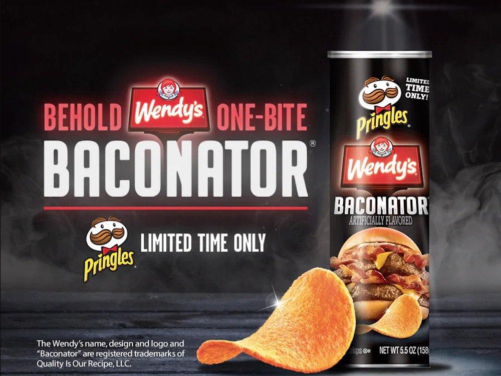 Pringles Wendy's Baconator Chips