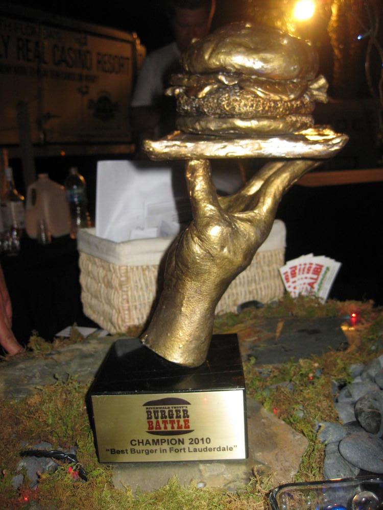 2010 Burger Battle Trophy