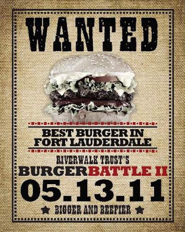 Riverwalk Burger Battle 2011 Poster