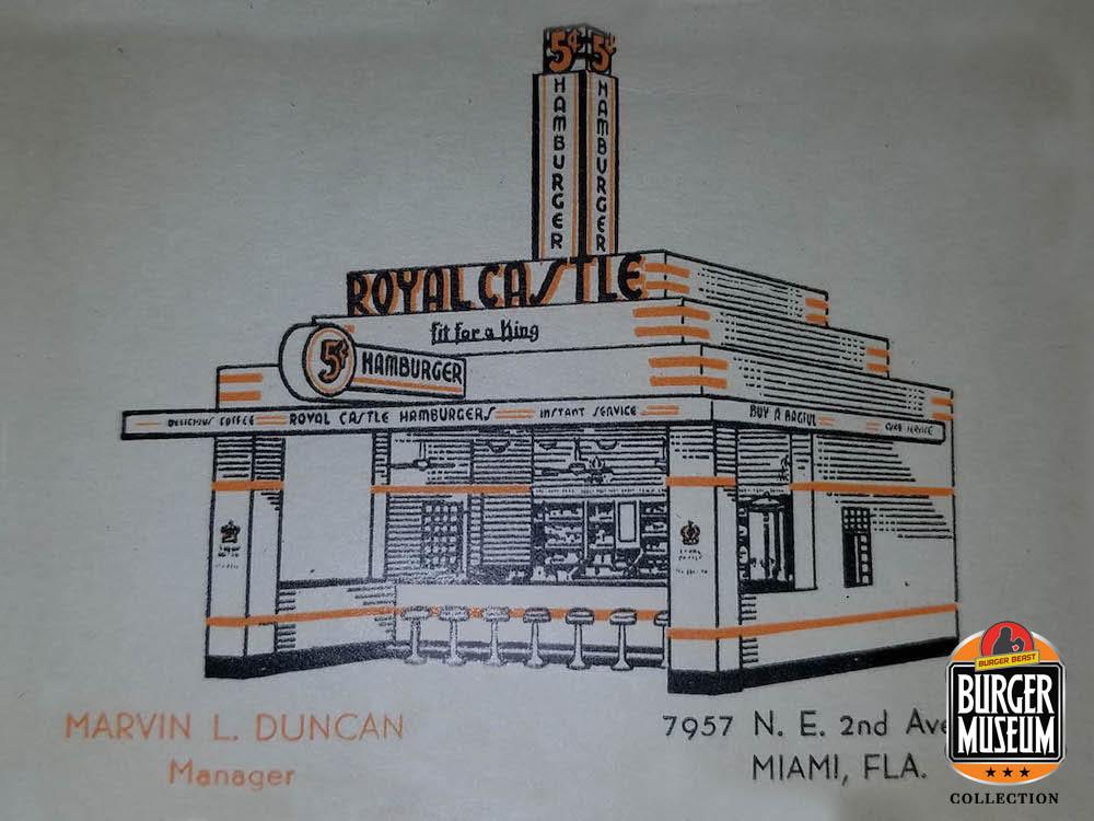 Original Location Building Print