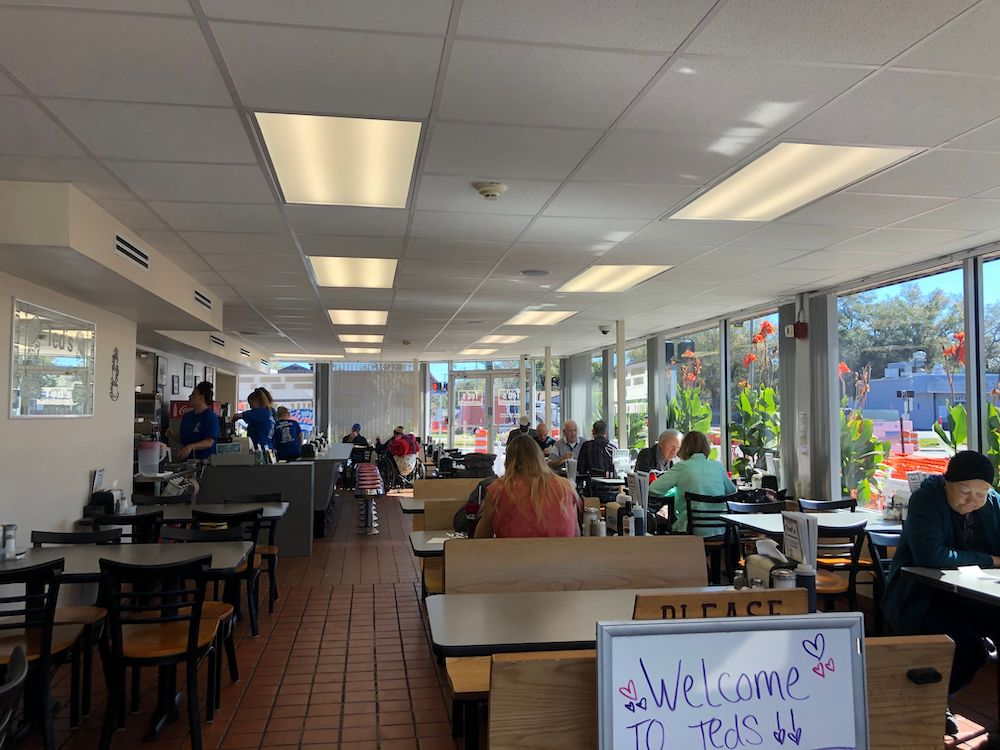 Inside of Ted's Luncheonette