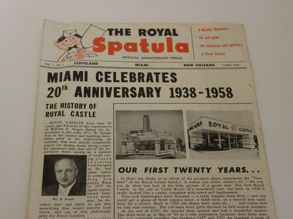The Royal Spatula Newsletter