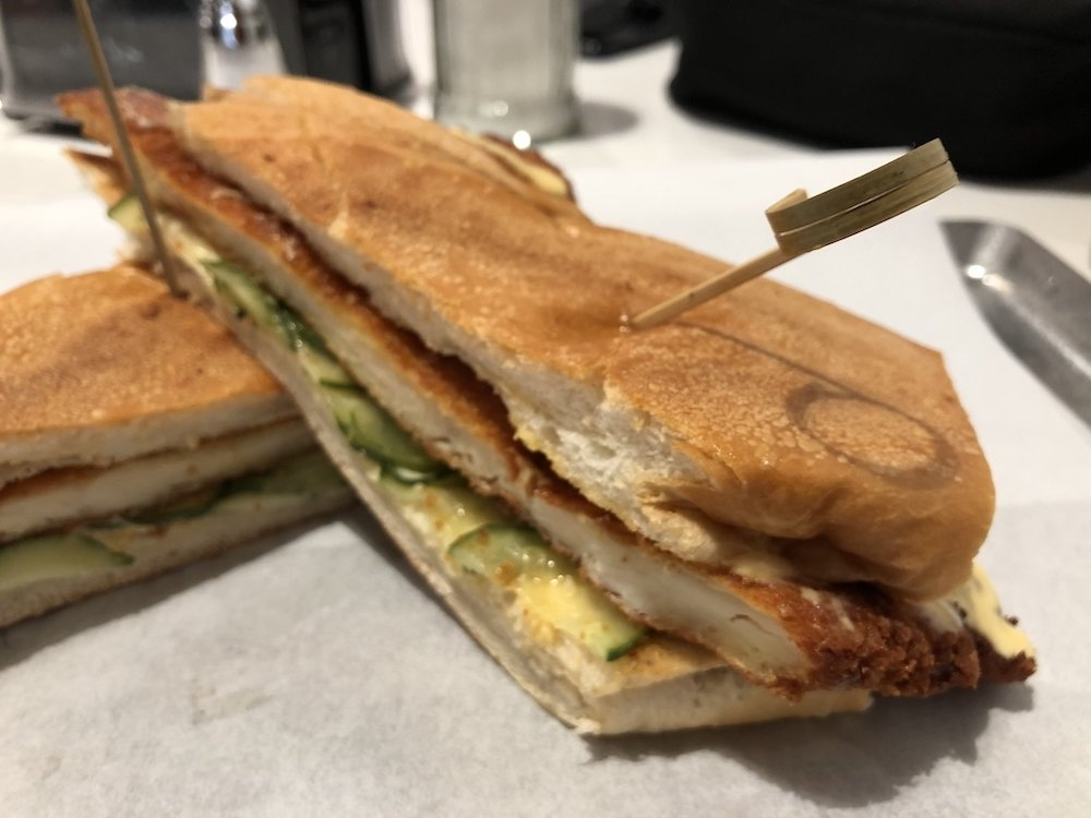 Pollo Milanesa Sandwiche