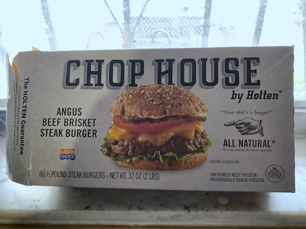 Chophouse by Holten Frozen Burgers