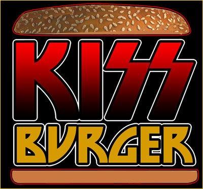 KISS Burger Logo