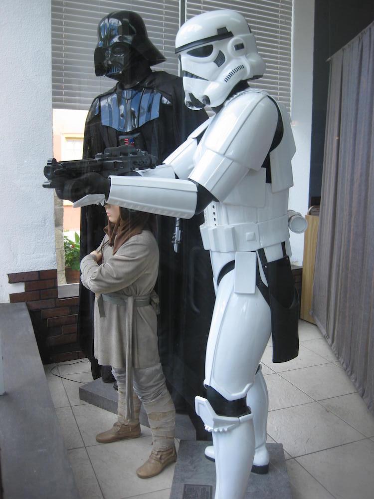 Darth Vader & a Stormtrooper