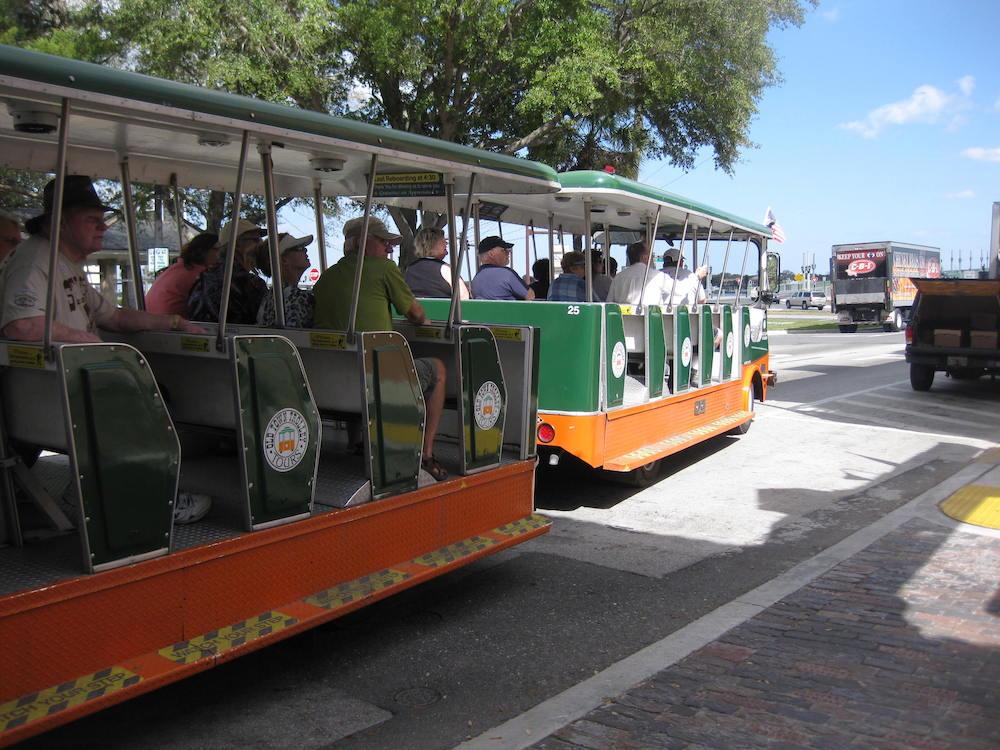 Tram to Potter's Wax Museum