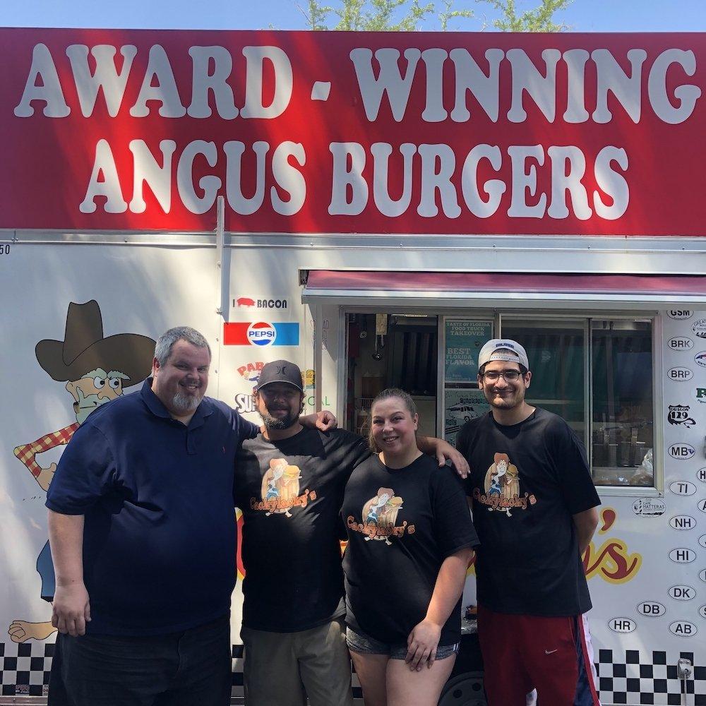 Cackylackys with Burger Beast