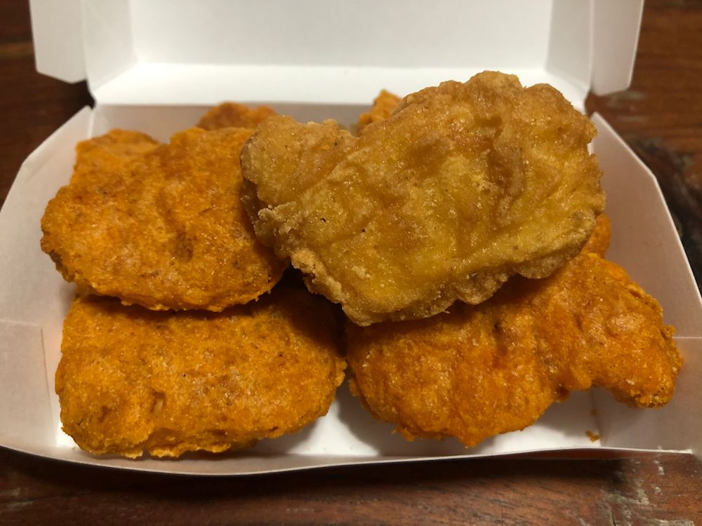 Spicy McNuggets with an infiltrator