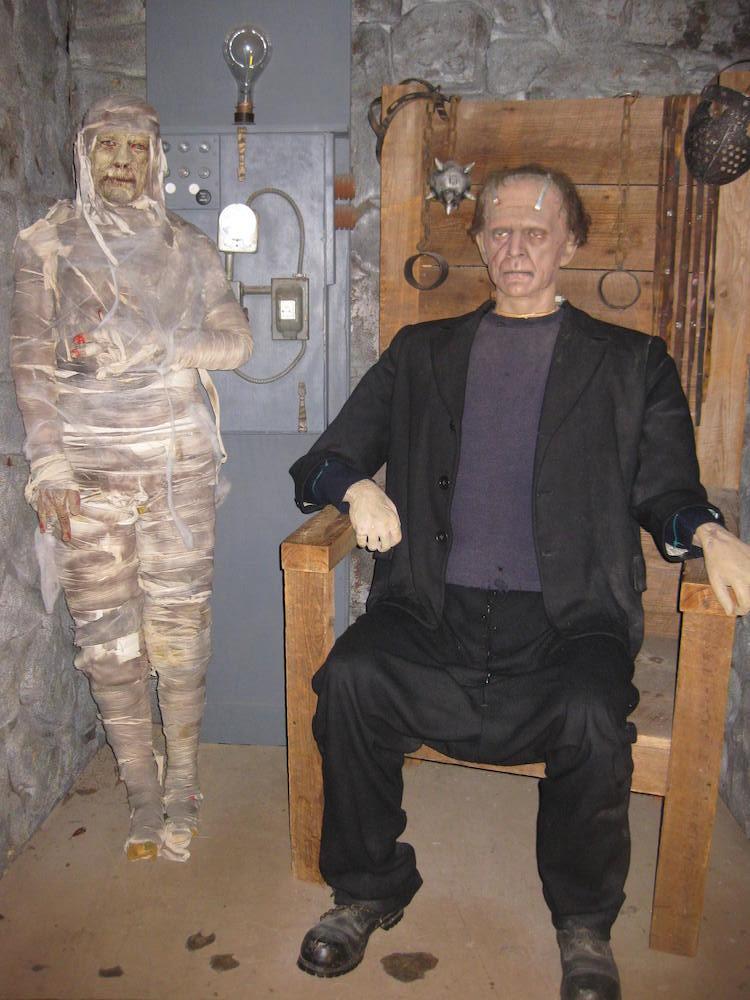 Mummy & Frankenstein Monster