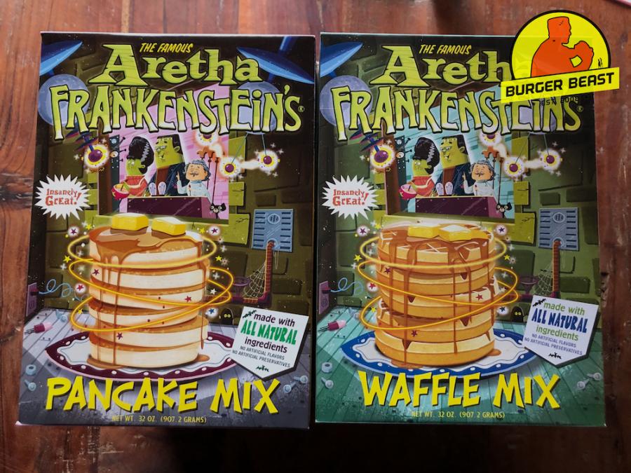 Aretha Frankenstein's Pancake & Waffle Mix