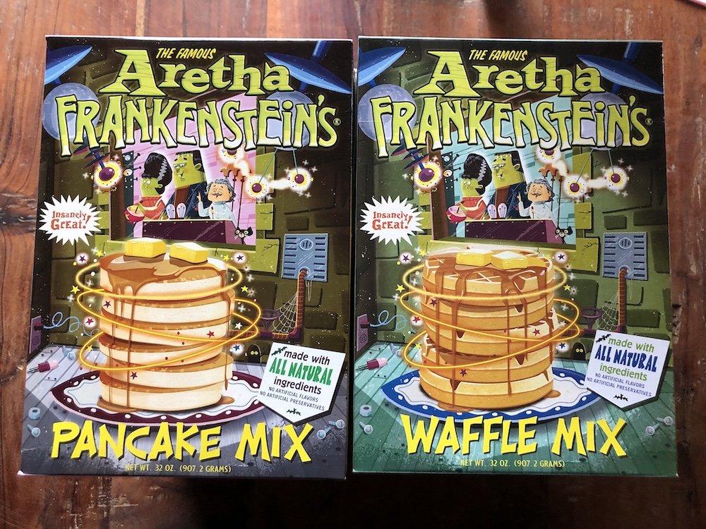 Aretha Frankenstein's Pancake & Waffle Mixes