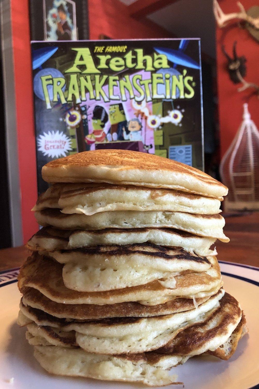 Aretha Frankenstein's Pancakes