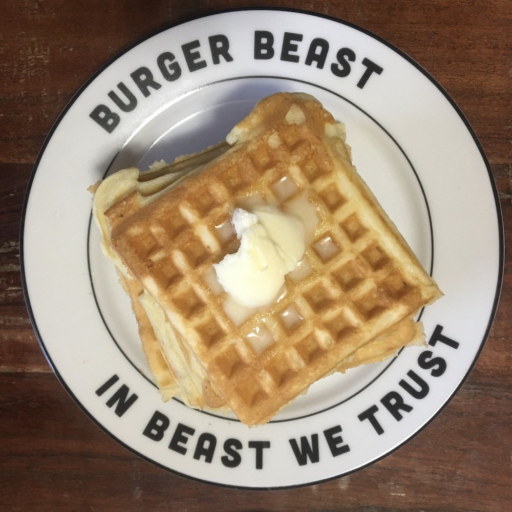 Aretha Frankenstein's Waffles