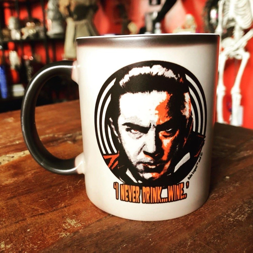 """Bela """"I Never Drink Wine"""" Mug"""