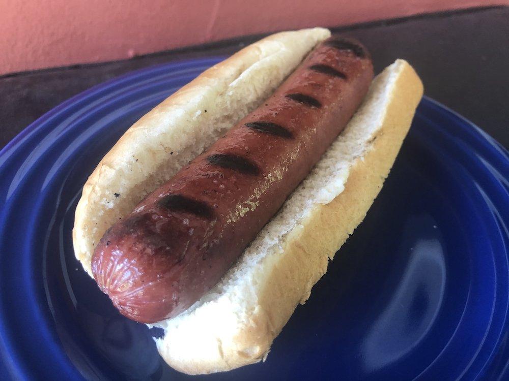Meat N' Bone Chargrilled Hot Dog
