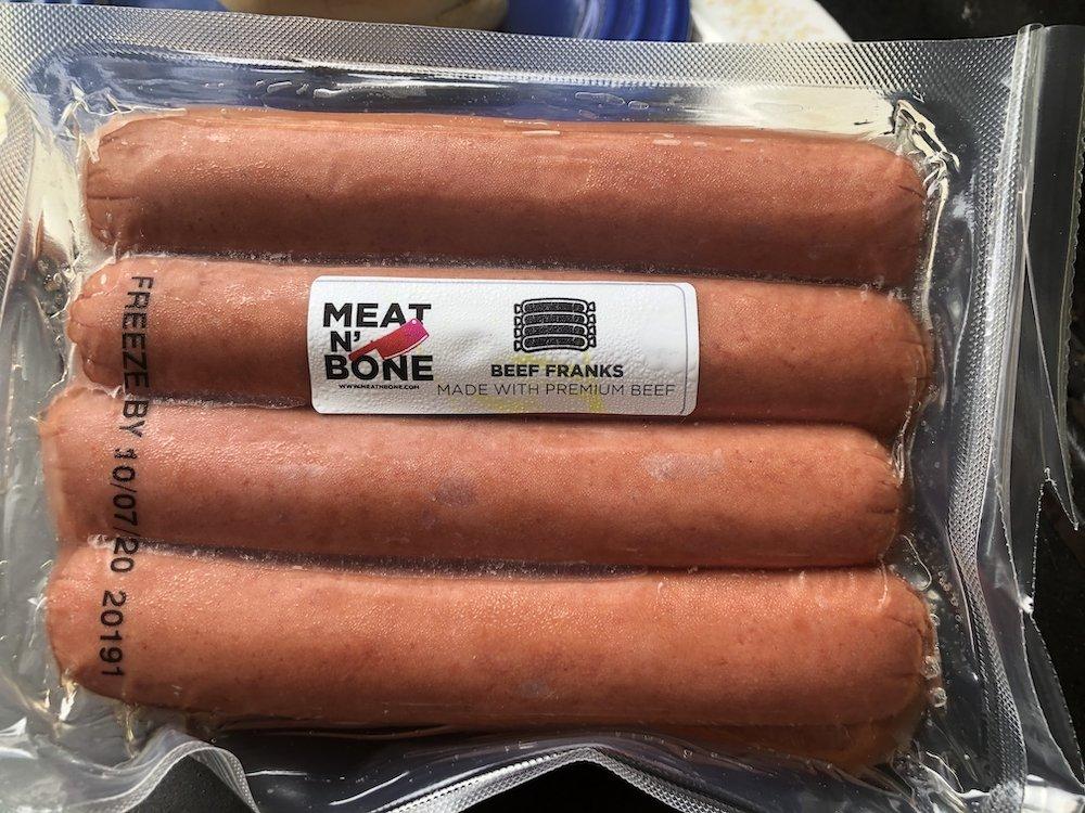 Meat N' Bone 8 Pack of Hot Dogs