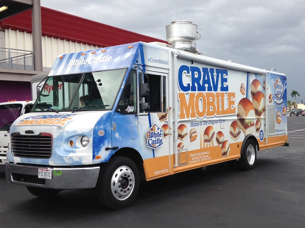 White Castle Cravemobile in Miami