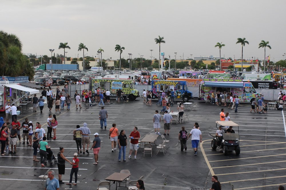 Largest Food Truck Parade Event