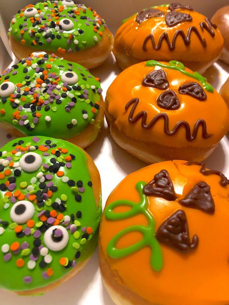 Halloween Krispy Kreme Donuts for 2018