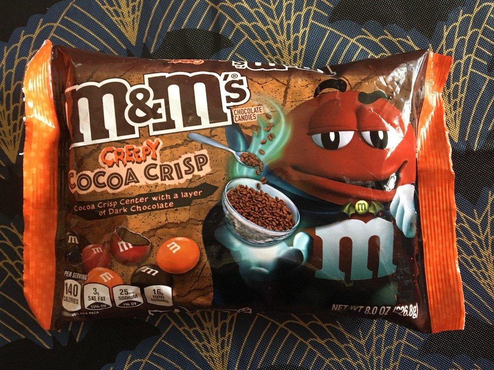 Halloween M&M's Creepy Cocoa Crisp
