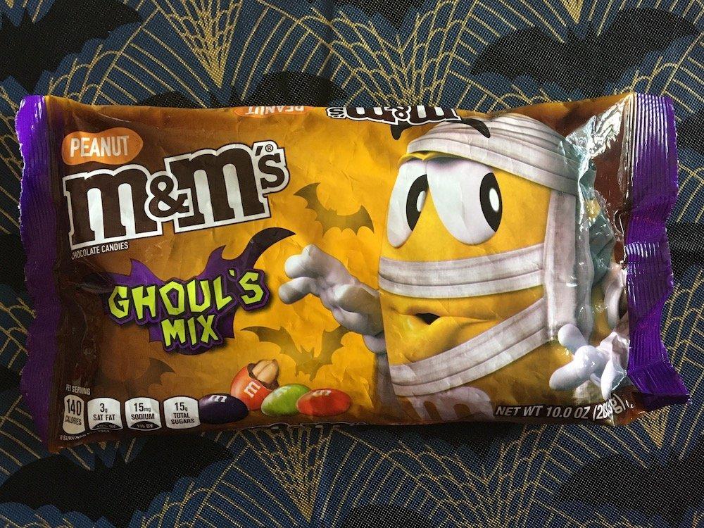 Peanut M&M's Ghoul's Mix
