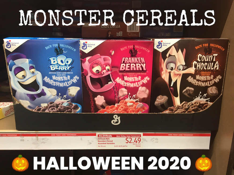 Monster Cereals 2020
