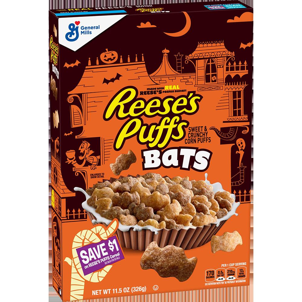 Reese's Puffs Bats for Halloween