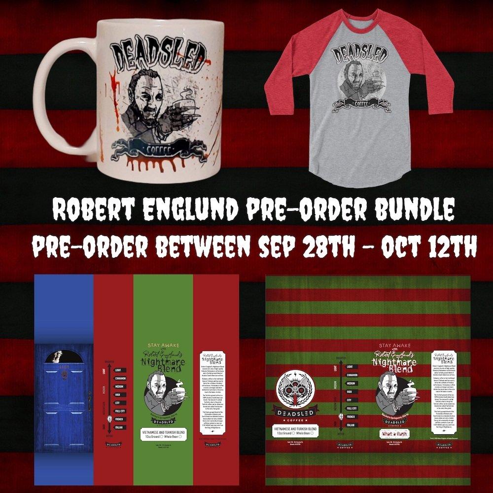 Robert Englund Dead Sled Coffee PREORDER