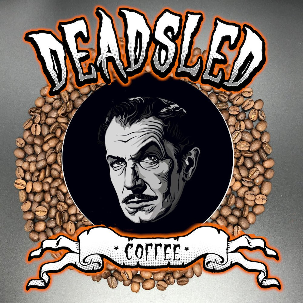 NEW Vincent Price Dead Sled Coffee