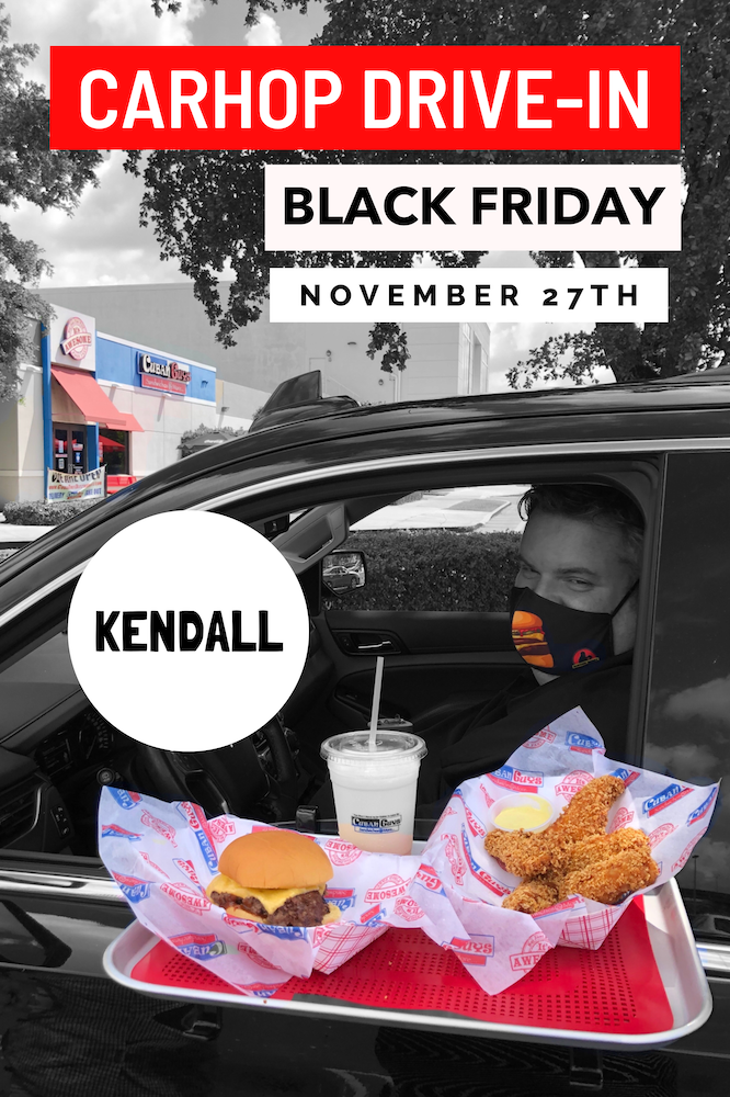 Black Friday Carhop Drive-In at Cuban Guys