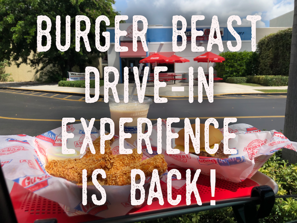 Burger Beast Drive In Experience is Back!