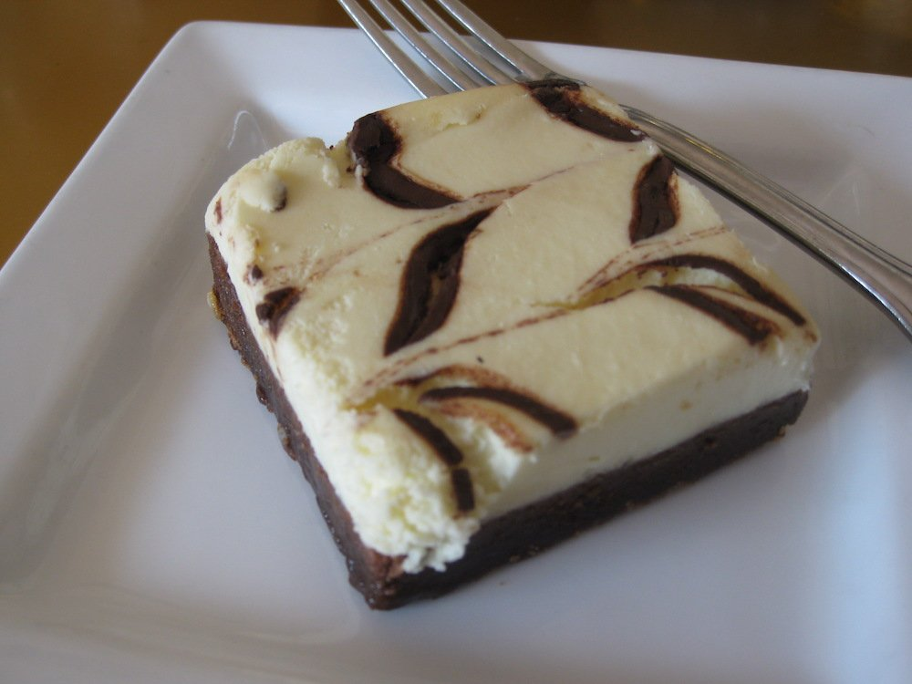 Icebox Cafe Brownie Cheesecake