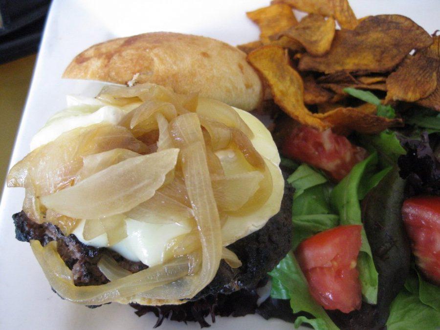 Icebox Cafe Burger