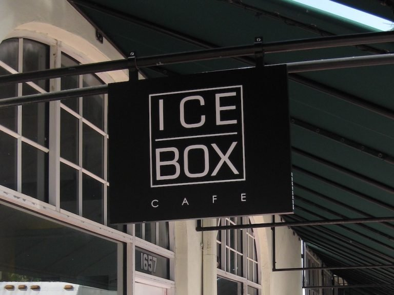 Icebox Cafe makes a mean Chargrilled Burger