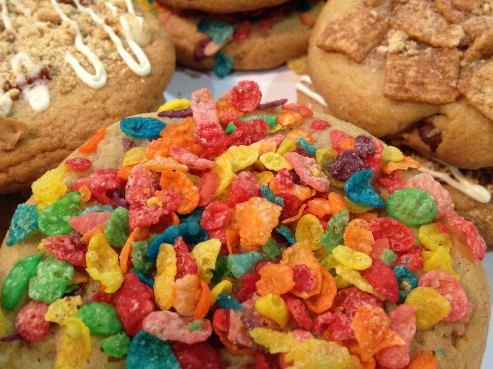 Fruity Pebbles Cookie
