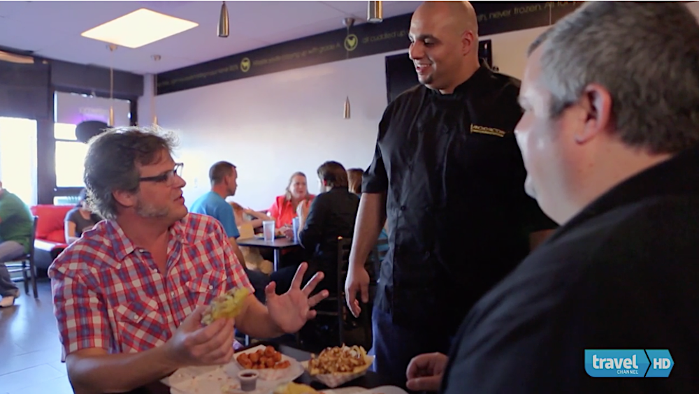 PINCHO on Travel Channel's Burger Land