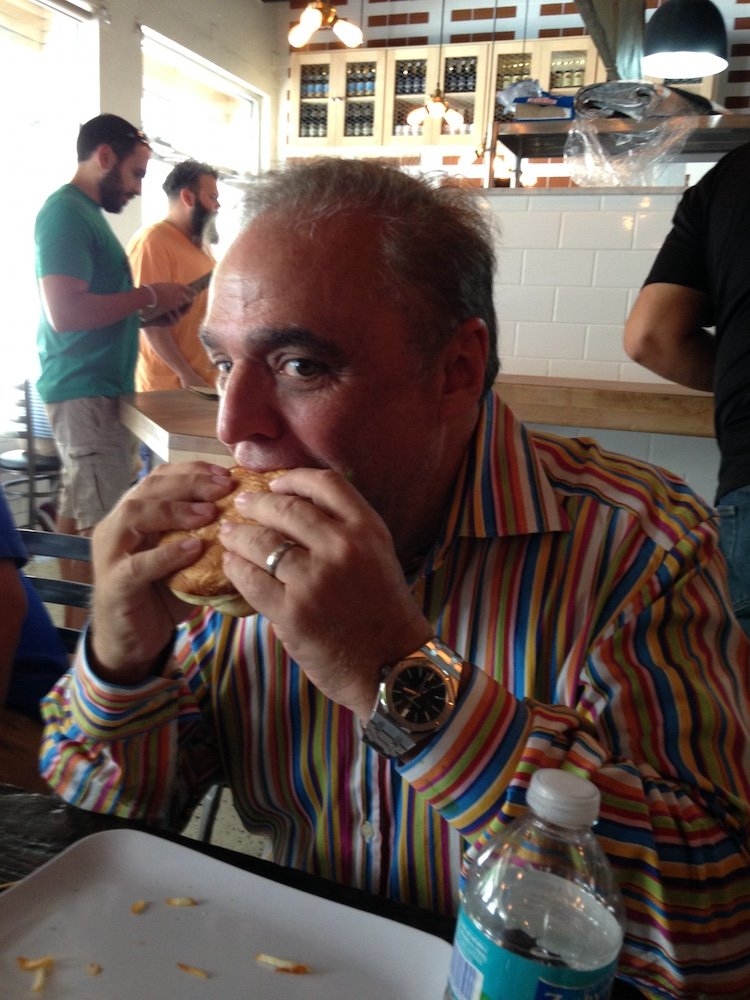 Lee Schrager at PINCHO Coral Gables