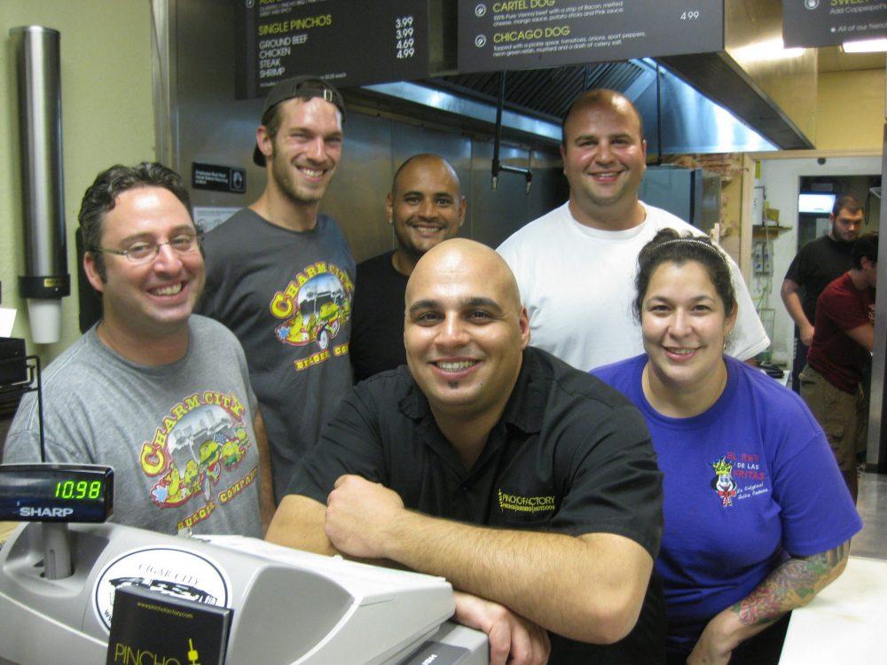 National Hamburger Month 2012 event at PINCHO