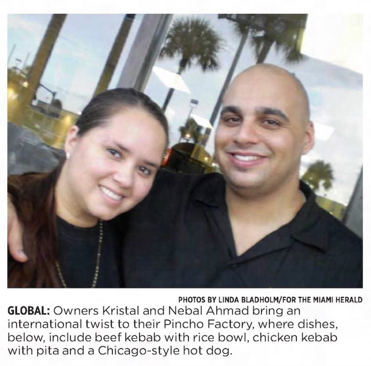 PINCHO in Miami Herald - Nebal Ahmad